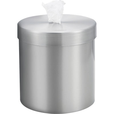 Global Industrial™ Wall Mounted Wet Wipe Dispenser - Stainless Steel