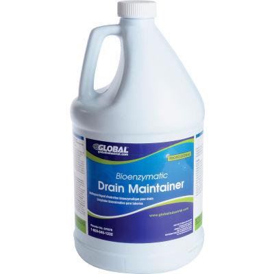 Global Industrial™ Bioenzymatic Drain Maintainer - Case Of Four 1 Gallon Bottles