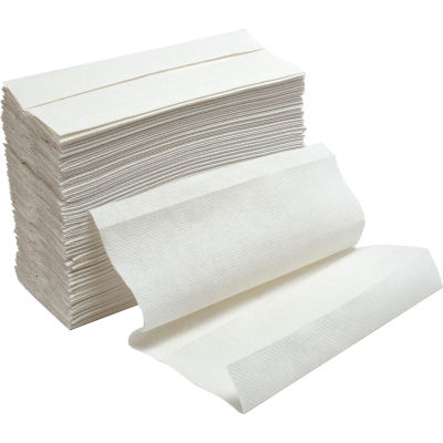 C-Fold Paper Towels, White - 200 Sheets/Pack, 12 Packs/Case