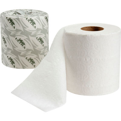 Ultra® Standard Bathroom Tissue Paper - 500 Sheets/Roll, 96 Rolls/Case