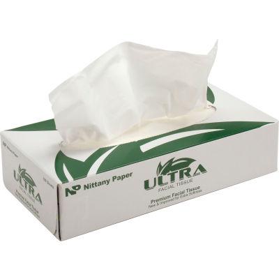 Ultra® Facial Tissue Flat Box - 100 Sheets/Box, 30 Boxes/Case