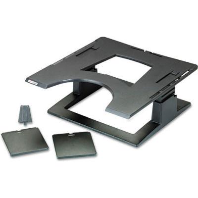 3M™ LX500 Ergonomic Notebook Riser with Adjustable Height, Black