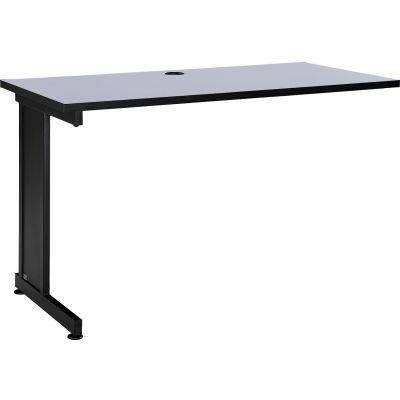 "Interion® 48"" Left Handed Return Table, Gray"