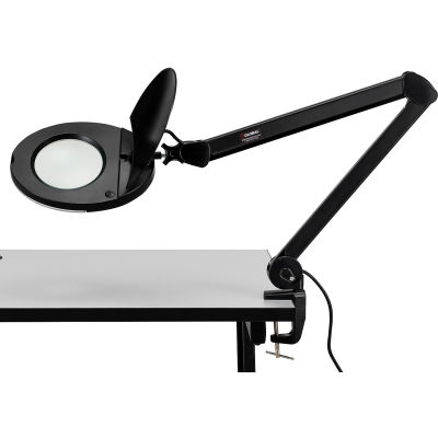 Global Industrial™ 3 Diopter LED Magnifying Lamp, Black