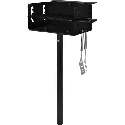 Global Industrial™ Park Grill Charcoal BBQ In Ground