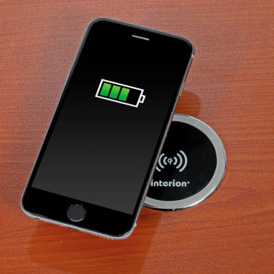 Interion® Wireless Qi Smartphone Charger