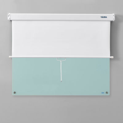 """Pull Down Privacy Screens for 48""""W Dry Erase Boards"""