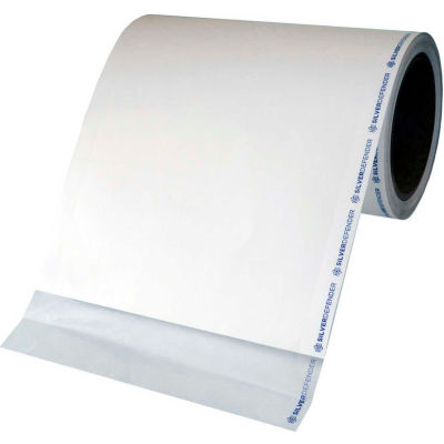 "Silver Defender Antimicrobial Film Tape For Touch Screens, 60'H x 7""W Clear"