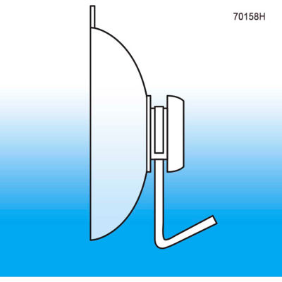 """Suction Cup With Hook, 1-3/4"""" O.D. - Pkg Qty 100"""
