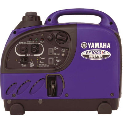Yamaha Inverter Generator W/ Recoil Start, Gasoline, 900 Rated