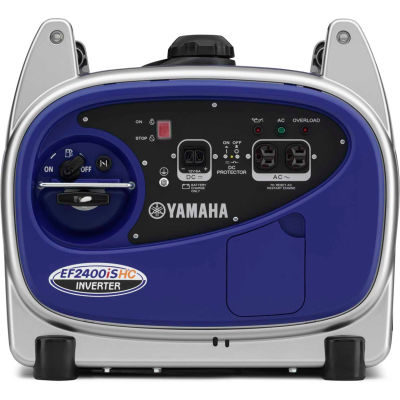 Yamaha™ Portable Inverter Generator W/ Recoil Start, Gasoline, 2000 Rated Watts