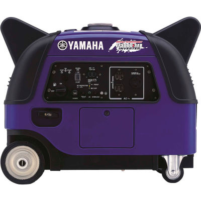 Yamaha™ Portable Inverter Generator W/ Electric/Recoil Start, Gasoline, 2800 Rated Watts