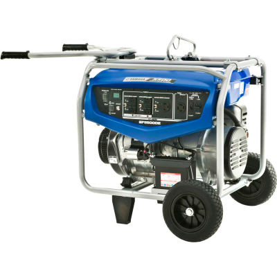 Yamaha™ Portable Generator W/ Recoil Start, Gasoline, 4500 Rated Watts