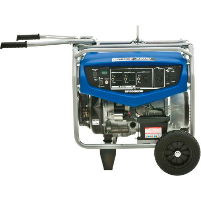 Yamaha™ Portable Generator W/ Electric/Recoil Start, Gasoline, 4500 Rated Watts
