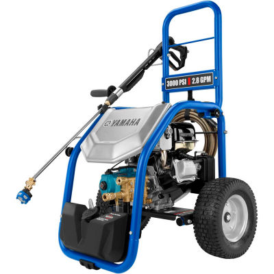 Yamaha PW3028B 3000PSI 5.0HP 2.8GPM Gas Pressure Washer W/CAT Triplex Pump