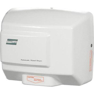 World Dryer Economy Automatic Hand Dryer, White Aluminum, 120V