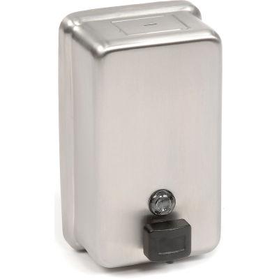 ASI® Stainless Steel Liquid Soap Dispenser Vertical - 0347