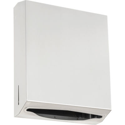 ASI® Stainless C-Fold / Multifold Towel Dispenser - 0210