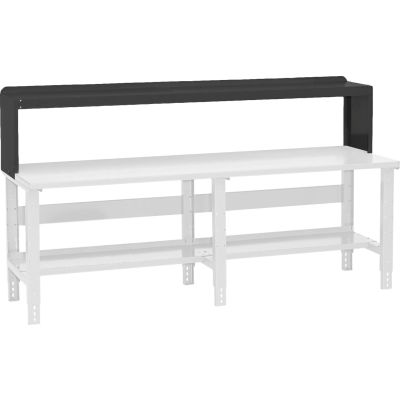 "Global Industrial™ Workbench Riser 96""W x 10-1/2""D x 12""H - Black"