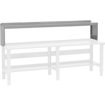 "Global Industrial™ Workbench Riser 96""W x 10-1/2""D x 12""H - Gray"