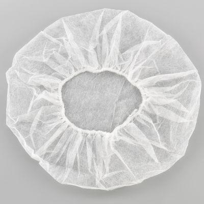 "Global Industrial™ Polypropylene Bouffant Cap, 24"", White, 100/Bag"
