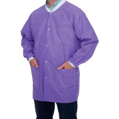 Premium Jackets - Purple, X-Large 10/Pk
