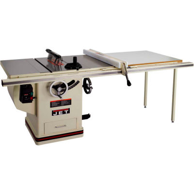 """JET 708677PK 5HP 1-Phase 50"""" Rip 10"""" Deluxe XactaSaw Table Saw"""
