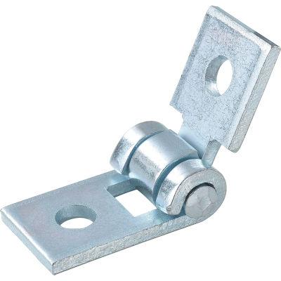 Global Industrial 2 Hole Adjustable Hinge - Pkg Qty 5
