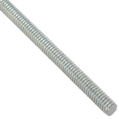 Global Industrial 1/2-13 x 6 feet, Threaded Rod - Zinc Plated Carbon Steel - Pkg Qty 6