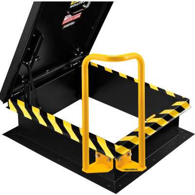 Global Industrial™ Powder Coated, Steel Roof Hatch Safety Extension Handle