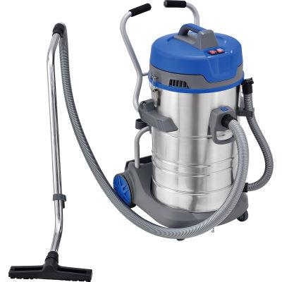 Global Industrial™ HEPA Wet Dry Vacuum - Stainless Steel - 21 Gallon