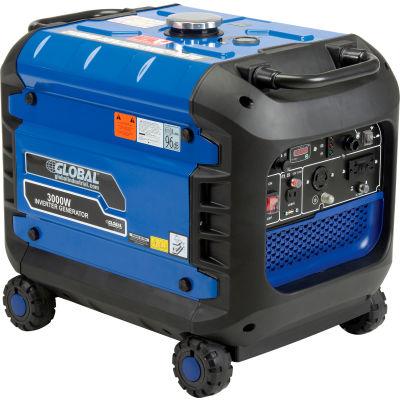 Global Industrial™ 2800 Watts, Inverter Generator, Gasoline, Recoil Start, 120V