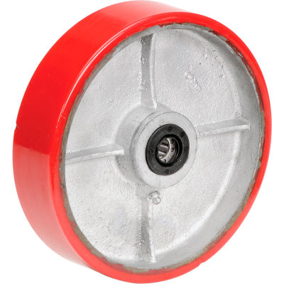 "Global Industrial™ 8"" x 2"" Polyurethane Wheel - Axle Size 5/8"""