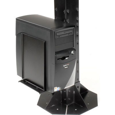 Global Industrial™ Computer CPU/UPS/Power Supply Holder - Black