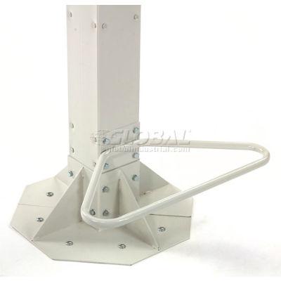 Footrest For Global Industrial™ Orbit Computer Workstations - Beige