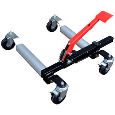 "Sunex® Ratcheting Car Dolly 7708 - 42-1/8""W x 27-7/8""D x 8-11/16""H - 1500 Lb. Capacity"