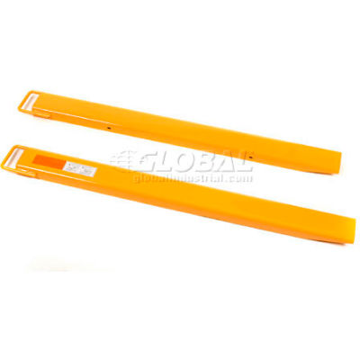 """Global Industrial™ Forklift Fork Tine Extension 5""""W x 72""""L - Pair"""