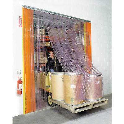 Global Industrial™ Scratch Resistant Strip Door Curtain 10'W x 10'H