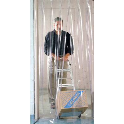 Global Industrial™ Pedestrian Strip Door Curtain 4'W x 7'H