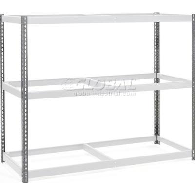 Global Industrial™ 5' High Gray Angle Post Set of 4