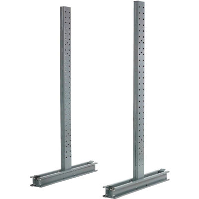 "Cantilever Rack Double Sided Upright (1000 Series), 78"" D x 6' H, 9400 Lbs Capacity"