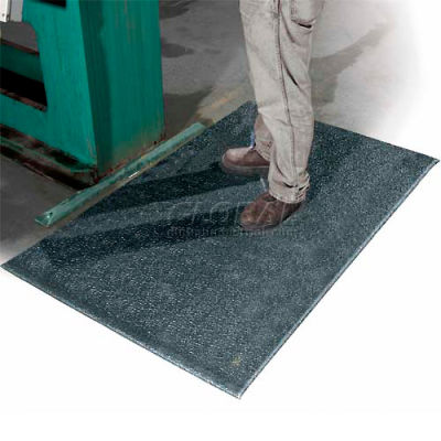 """Apache Mills All Purpose Mat 1/2"""" Thick 2' x Up to 60' Black"""