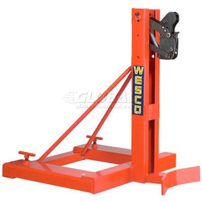 Wesco® Gator Grip® Forklift Single Drum Grab 240096 1600 Lb. Capacity