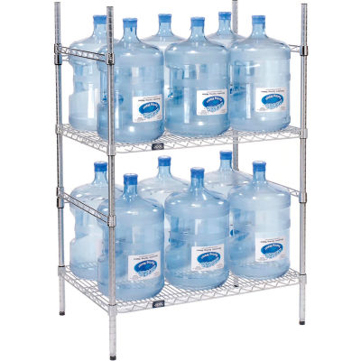 5 Gallon Water Bottle Storage Rack, 12 Bottle Capacity