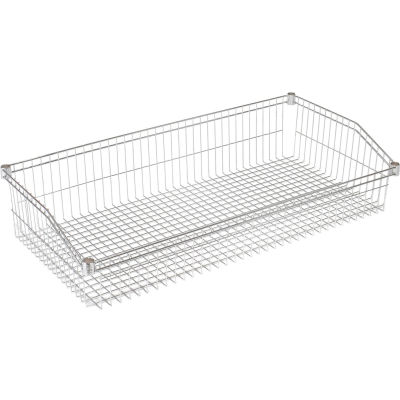 "Nexel Wire Shelf Individual Basket 36""W x 24""D"