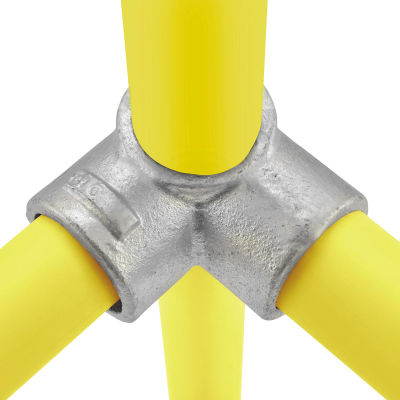 """Global Industrial™ Pipe Fitting - 90 Degree Two Socket Tee 1-1/2"""" Dia."""