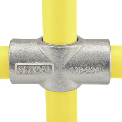 "Global Industrial™ Pipe Fitting - Two Socket Cross 1"" Dia."