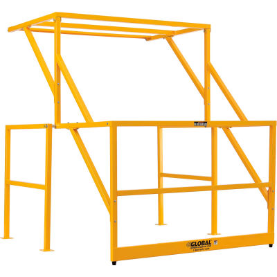 Global Industrial™ Mezzanine Safety Pivot Gate K/D