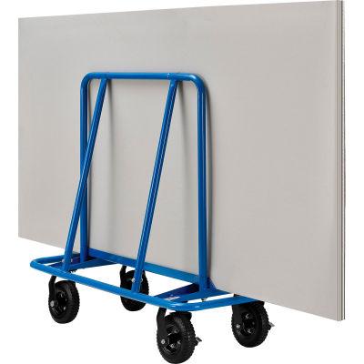 "Best Value Sheet Rock Drywall Cart 8"" No Flat Wheels 2400 Lb. Capacity"