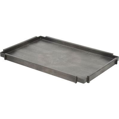 "Global Industrial™ 2-3/4"" Deep Tray Shelf For Plastic Utility Carts, 44""Lx25-1/2""W"